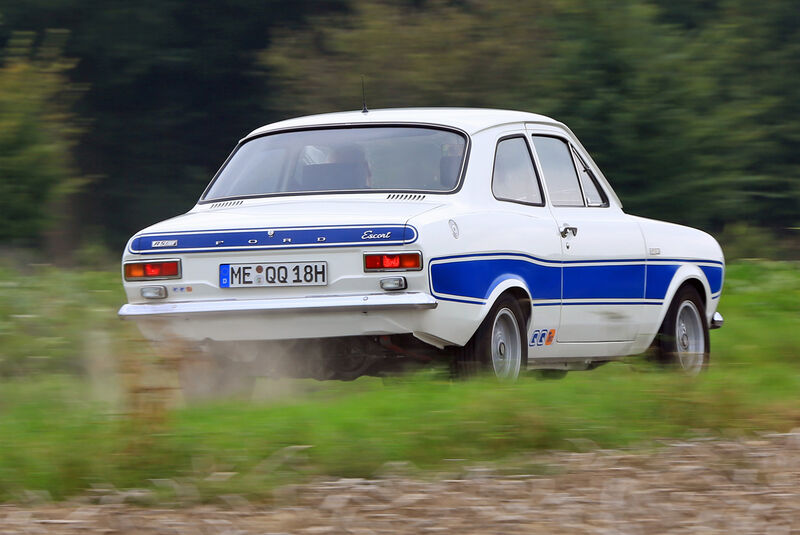 Ford Escort RS 2000, Heckansicht