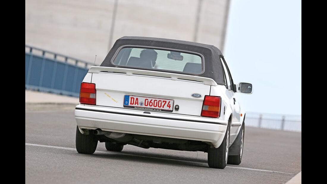 Ford Escort XR3i Cabrio, Heckansicht