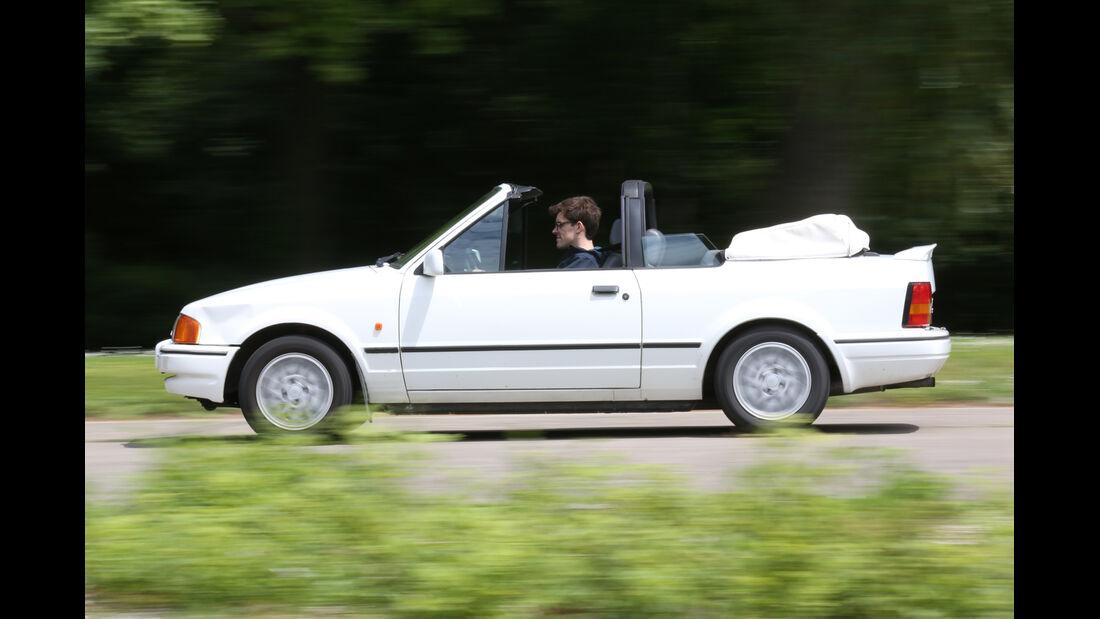 Ford Escort XR3i Cabrio, Seitenansicht