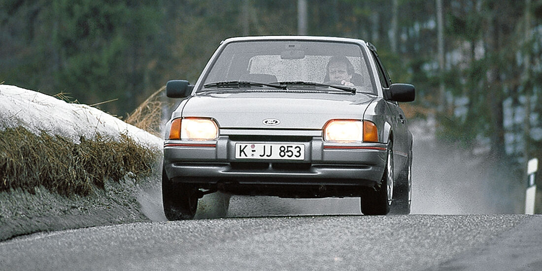 Ford Escort XR3i, Frontansicht