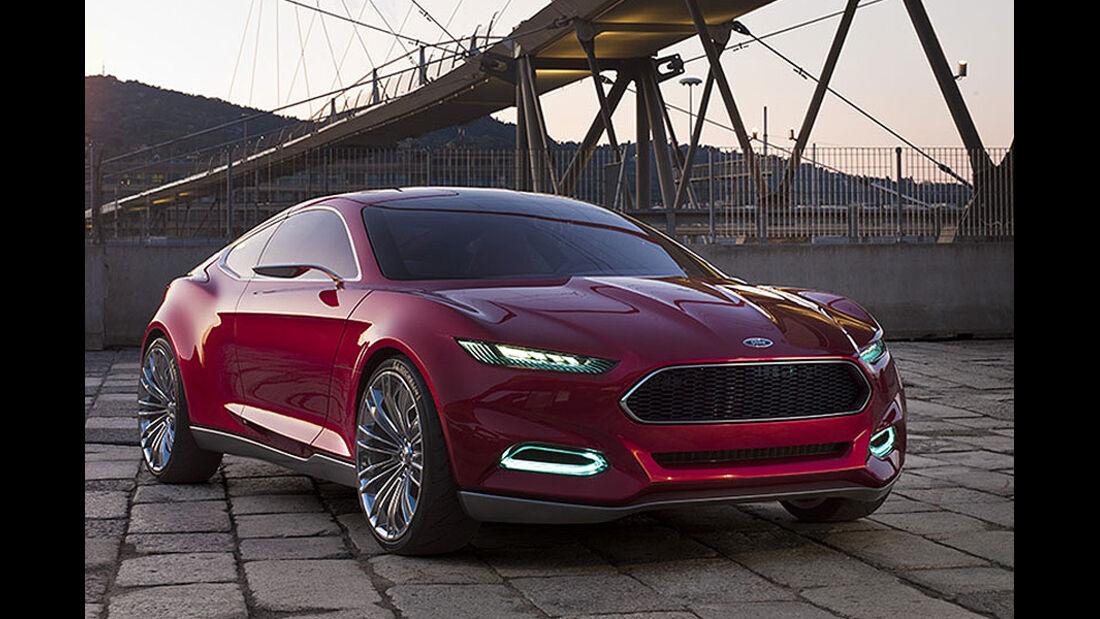 Ford Evos Concept IAA 2011,