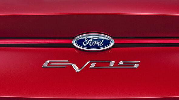 Ford Evos Concept IAA 2011, Schriftzug