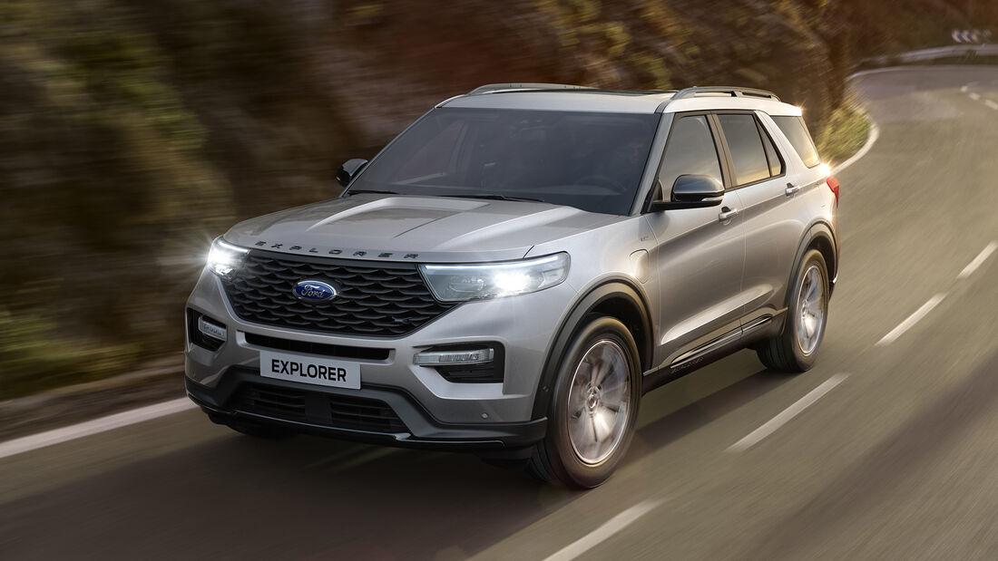 Ford Explorer 2020 Europa-Version