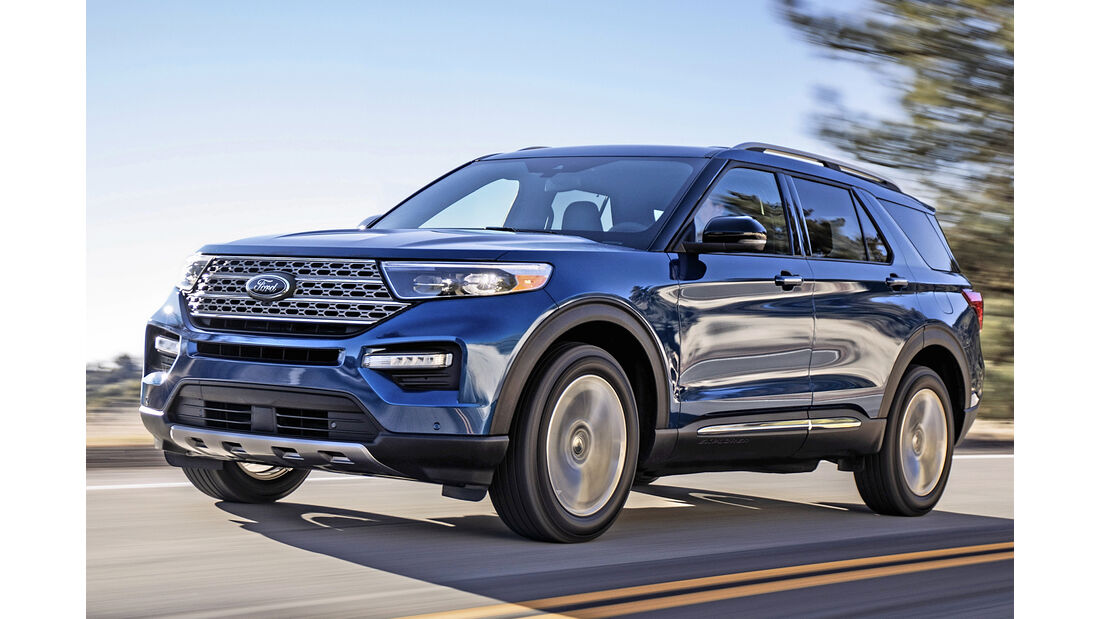 Ford Explorer, Best Cars 2020, Kategorie K Große SUV/Geländewagen