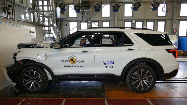 Ford Explorer EuroNCAP-Crashtest
