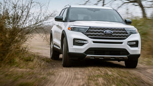 Ford Explorer King Ranch Edition USA 2021