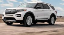 Ford Explorer King Ranch Edition USA 2021