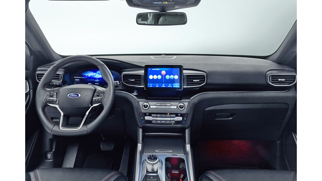 Ford Explorer Plug-in Hybrid 2019