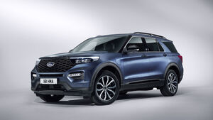 Ford Explorer Plug-in Hybrid 2019