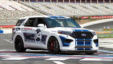 Ford Explorer ST Ford Performance Racing School