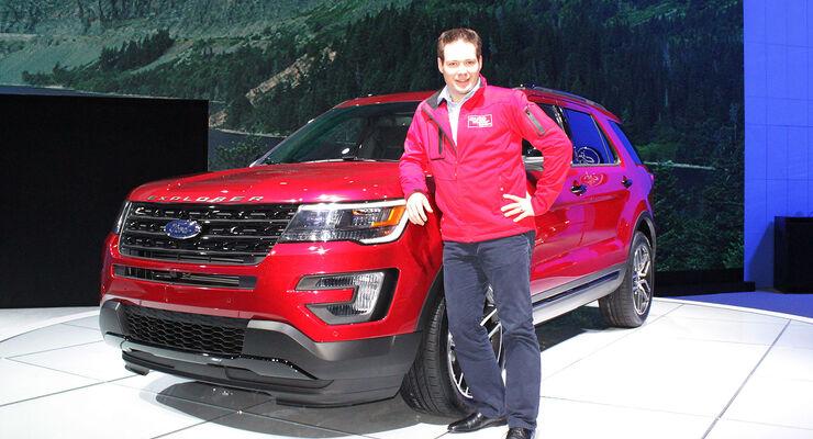 Ford Explorer Sitzprobe Jochen Knecht