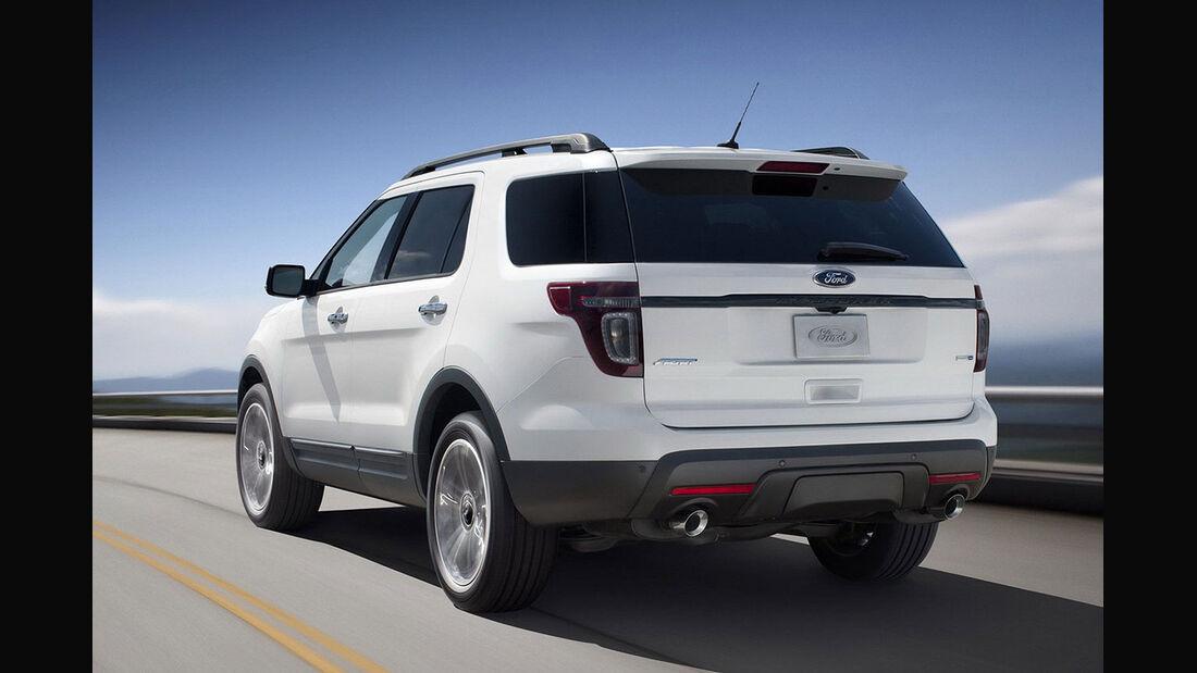Ford Explorer USA 2013