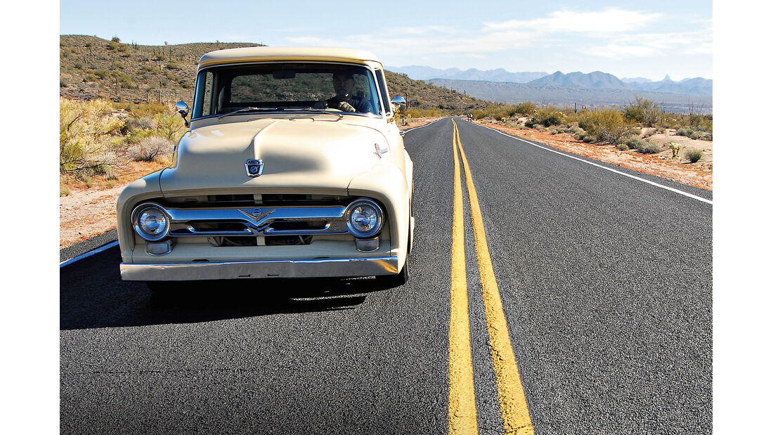 Ford F 100, Frontansicht