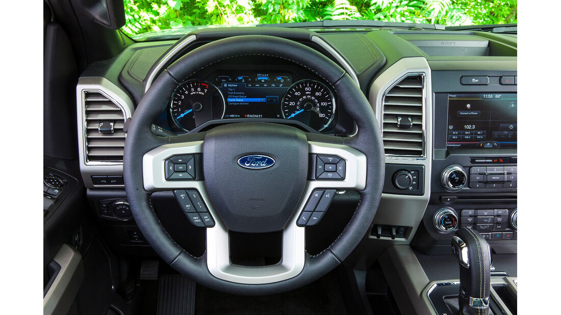 Ford F-150 2.7 Ecoboost, Innenraum, Cockpit