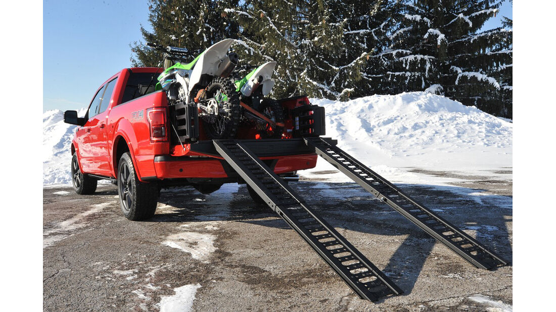 Ford F-150 2.7 Ecoboost, Ladefläche