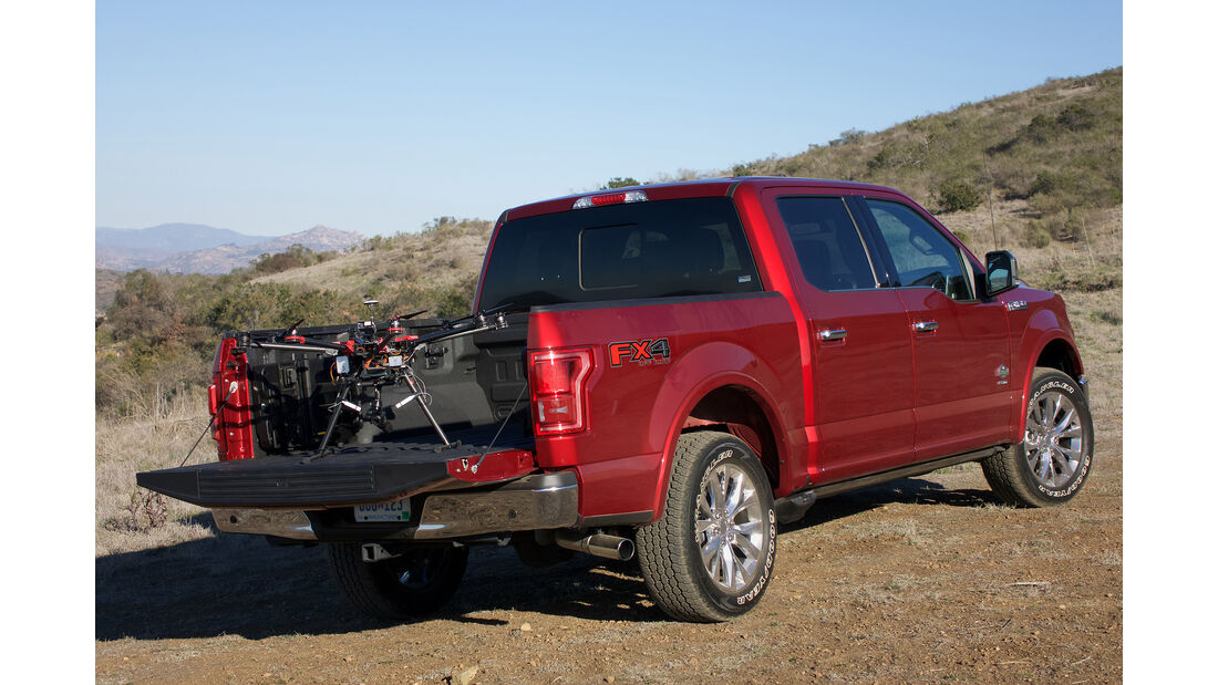 Ford F-150 Car to Drone