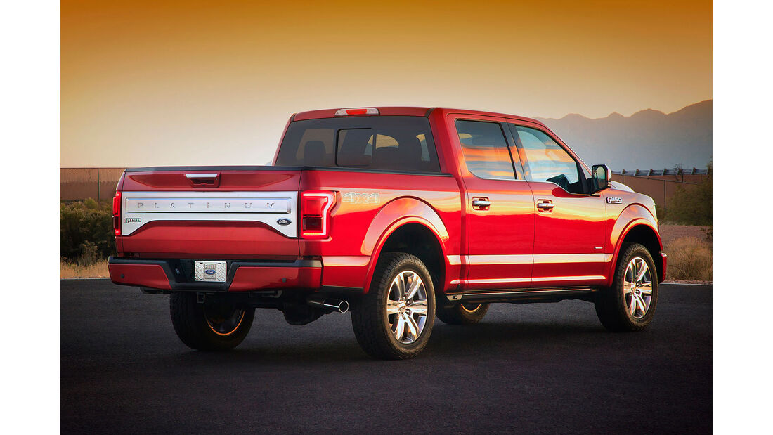 Ford F-150 Detroit Motor Show 2014
