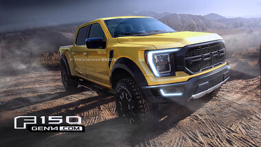 Ford F-150, Fan-Rendering von F150GEN14.com