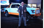 Ford F-150, Gulf Edition, L.A. Autoshow 2015, Los Angeles
