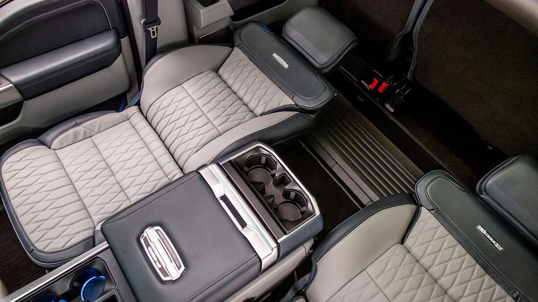 Ford F-150 Liegesitze
