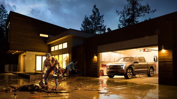 Ford F-150 Lightning Elektro-Pickup 2022 Weltpremiere