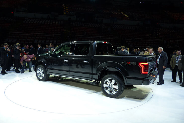 Ford F-150, NAIAS 2014, Detroit Motor Show
