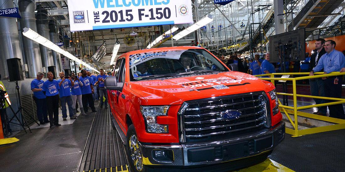 Ford F-150 Pickup MY 2015 4wf