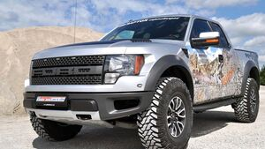 ford raptor geiger the beast gr nes monster mit 572 ps auto motor und sport. Black Bedroom Furniture Sets. Home Design Ideas