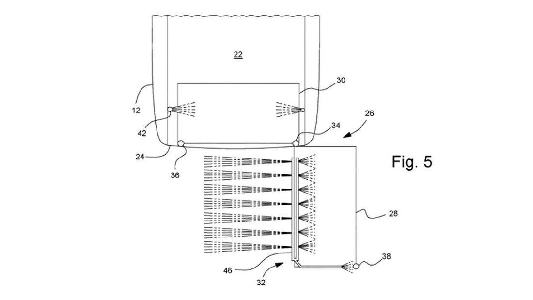 Ford F-150 electric Kofferraum-Patent