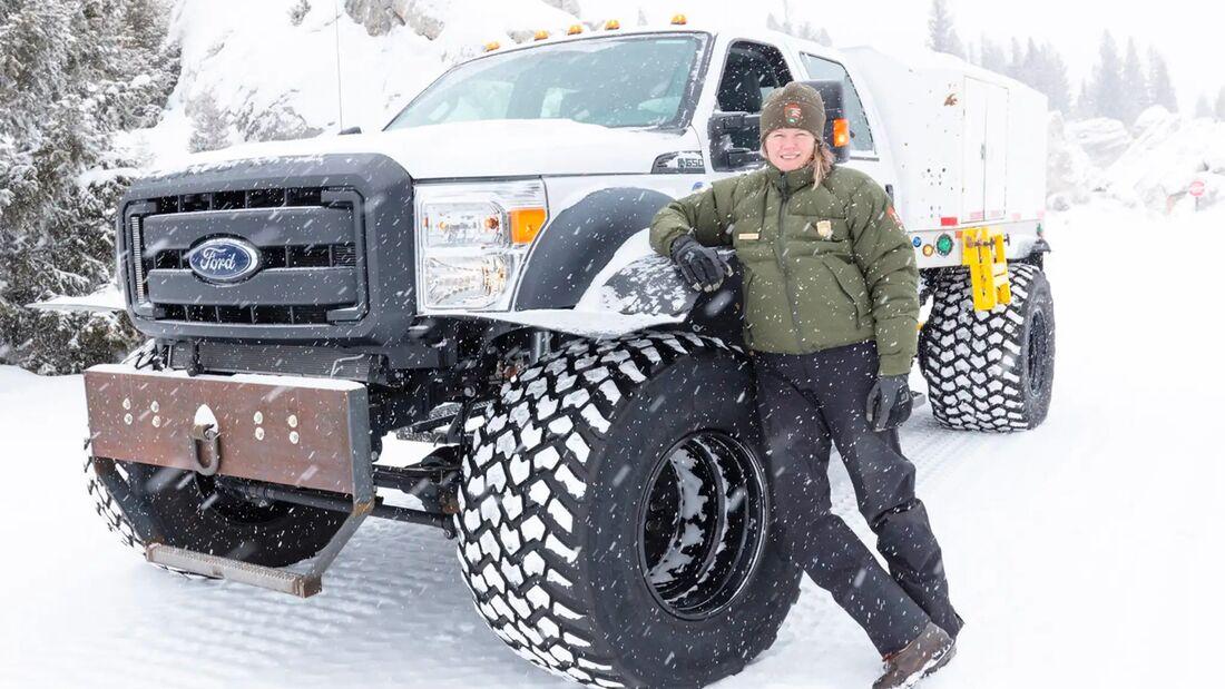 Ford F-550 Monster Truck