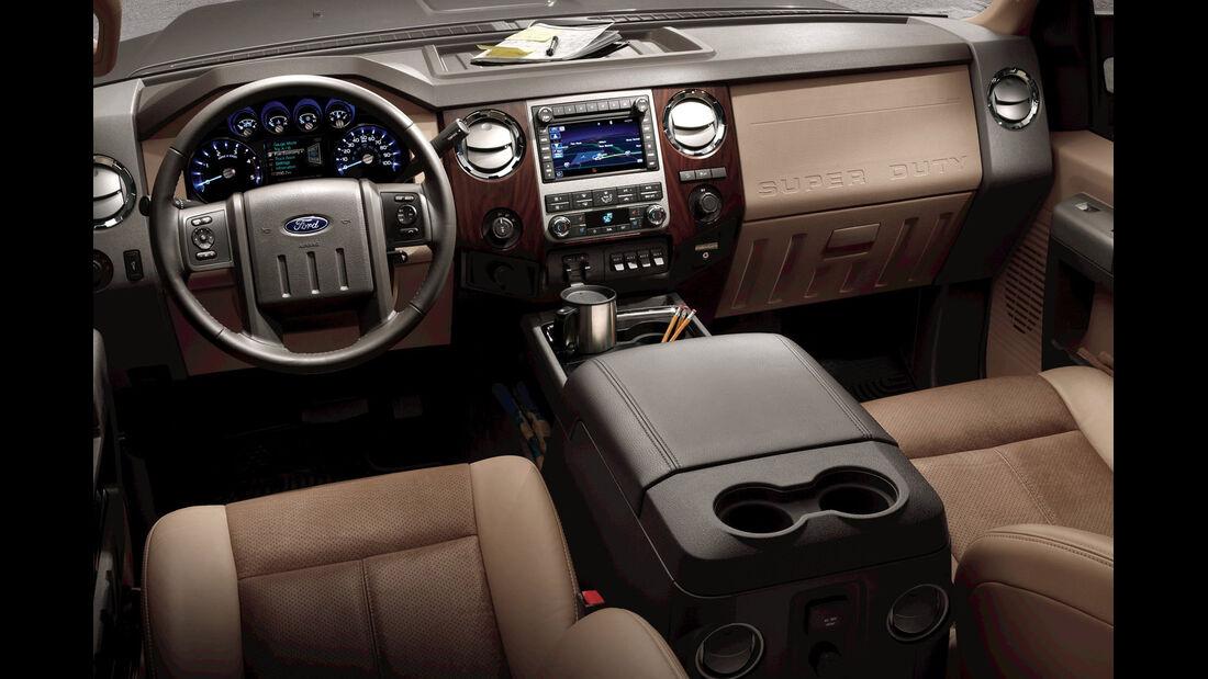 Ford F-Series Super Duty Cockpit