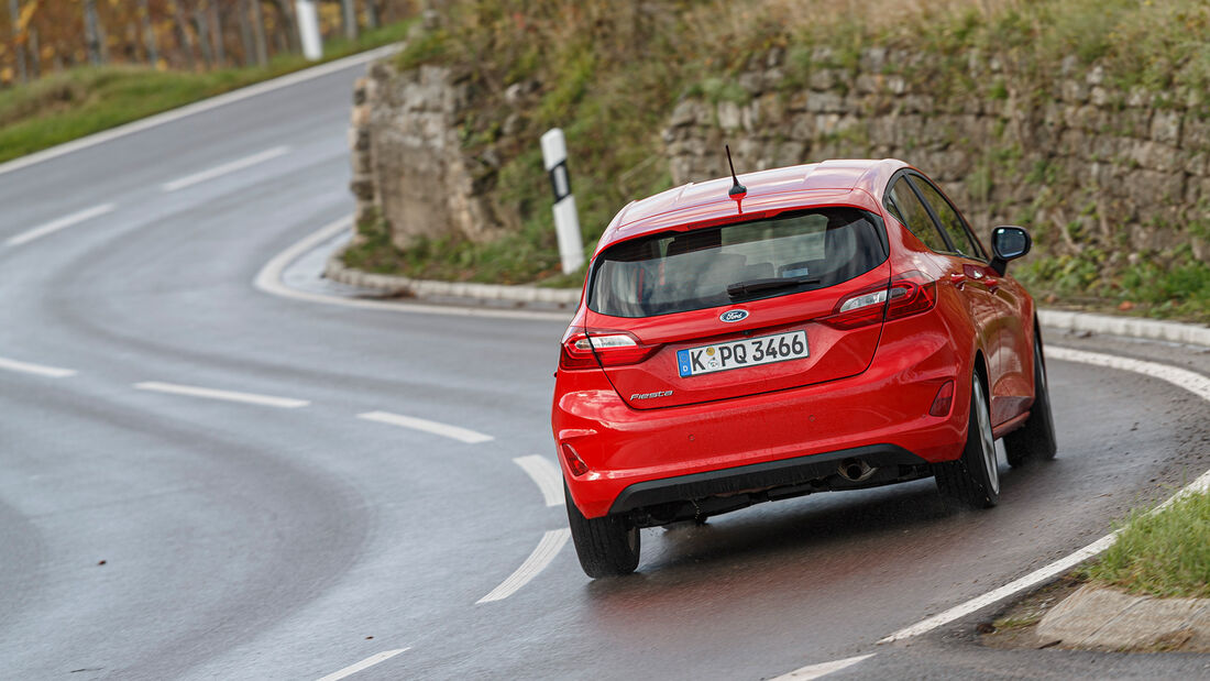 Ford Fiesta 1.0 EB, Exterieur