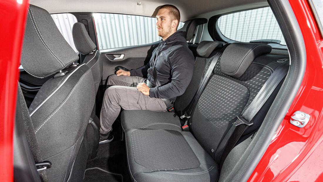 Ford Fiesta 1.0 EB, Interieur