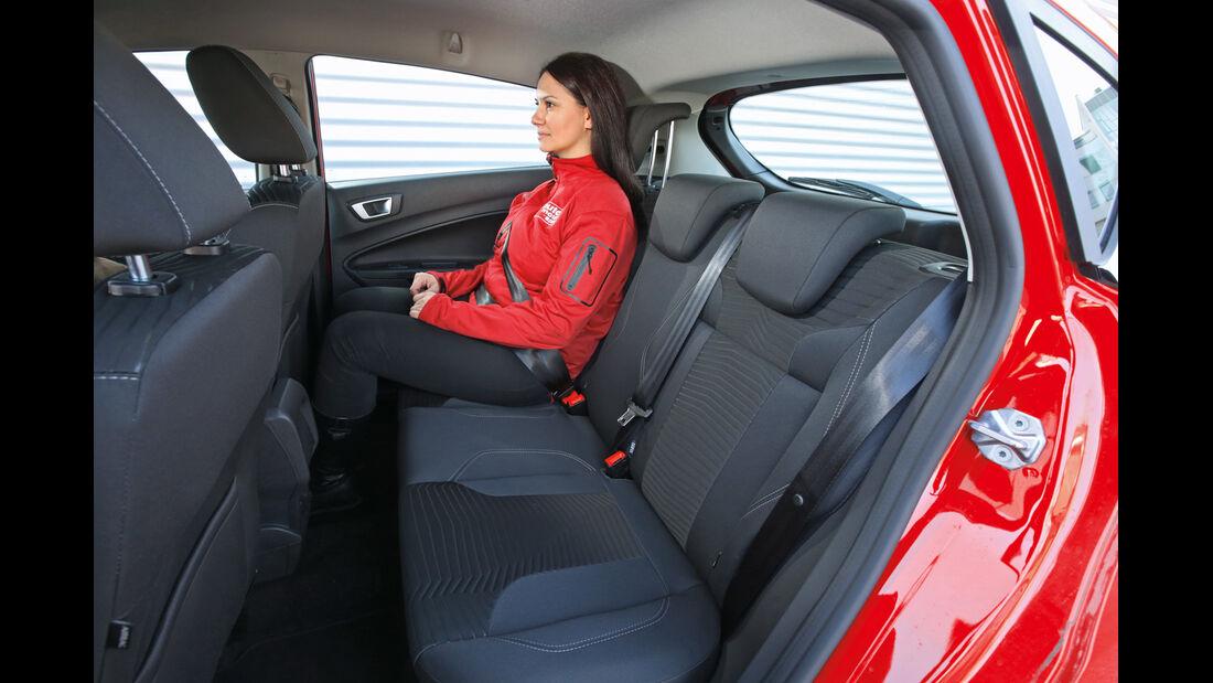 Ford Fiesta 1.0 Ecoboost, Fondsitz