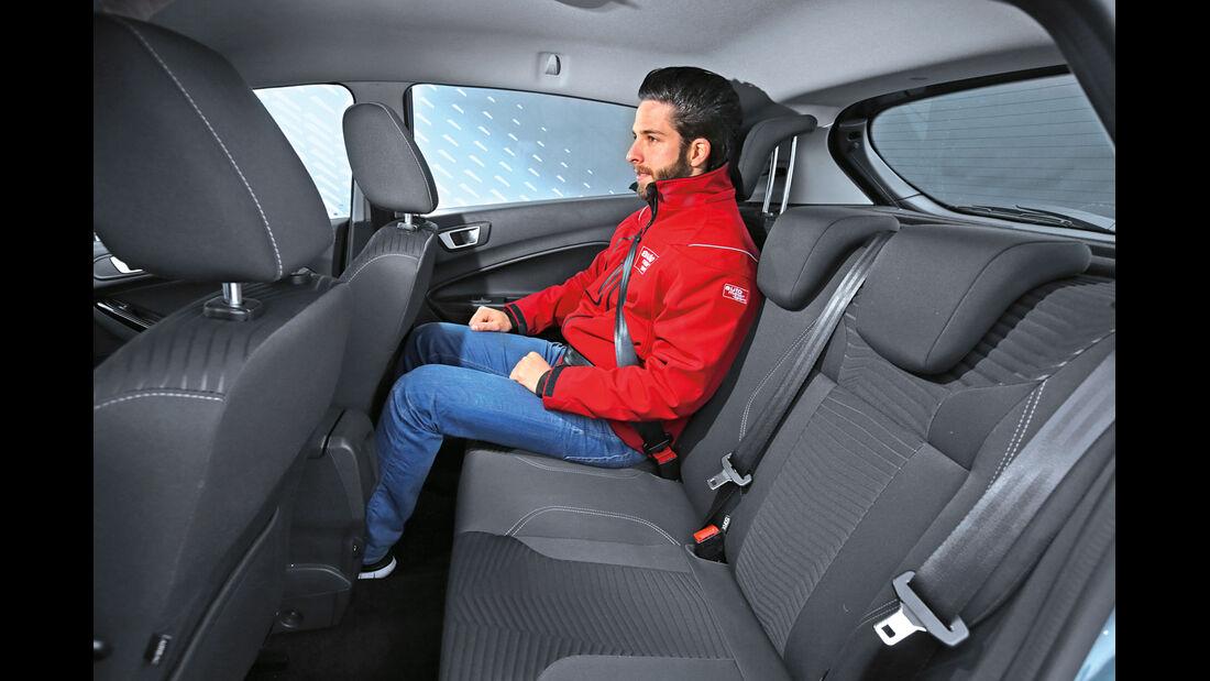 Ford Fiesta 1.0 Ecoboost, Fondsitz, Beinfreiheit