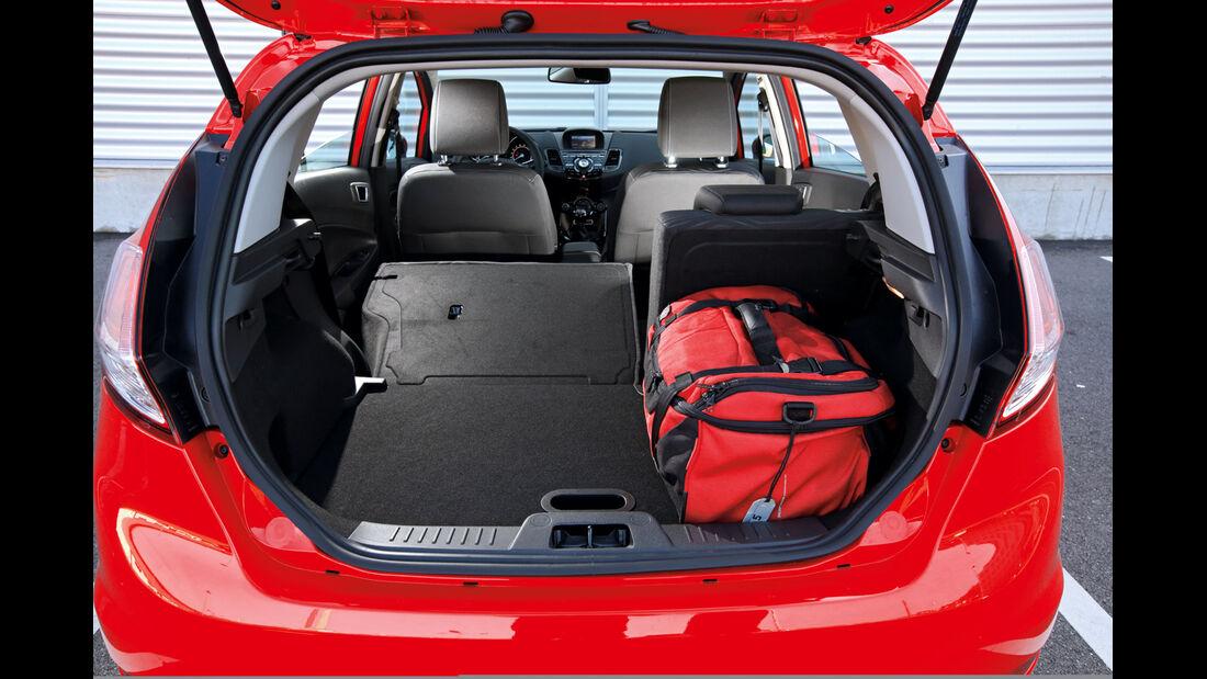 Ford Fiesta 1.0 Ecoboost, Kofferraum