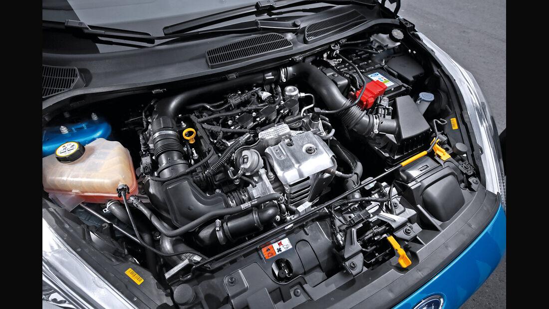 Ford Fiesta 1.0 Ecoboost, Motor