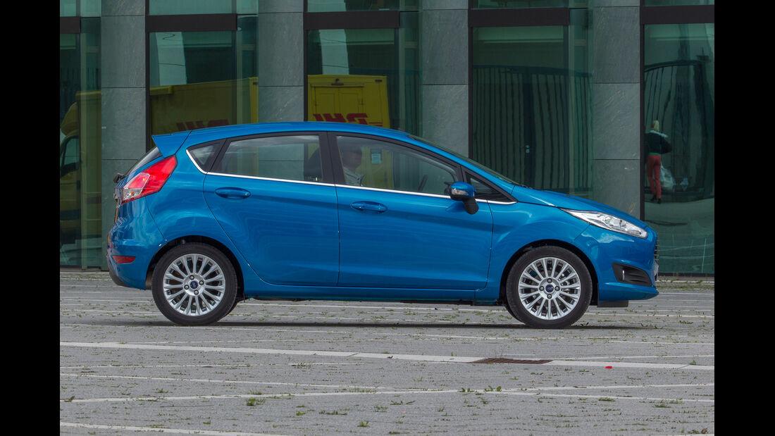 Ford Fiesta 1.0 Ecoboost, Seitenansicht
