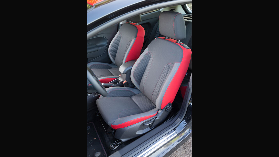Ford Fiesta 1.0 Ecoboost Sport, Fahrersitz