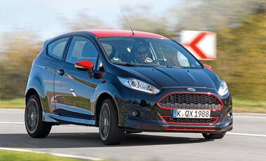 Ford Fiesta 1.0 Ecoboost Sport, Frontansicht