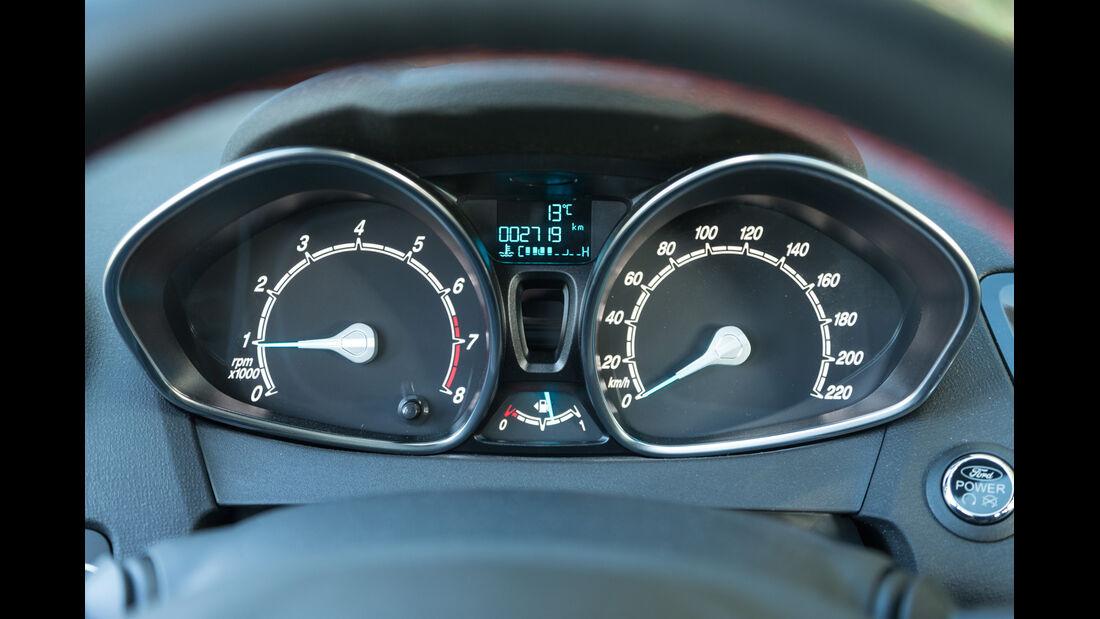 Ford Fiesta 1.0 Ecoboost Sport, Rundinstrumente