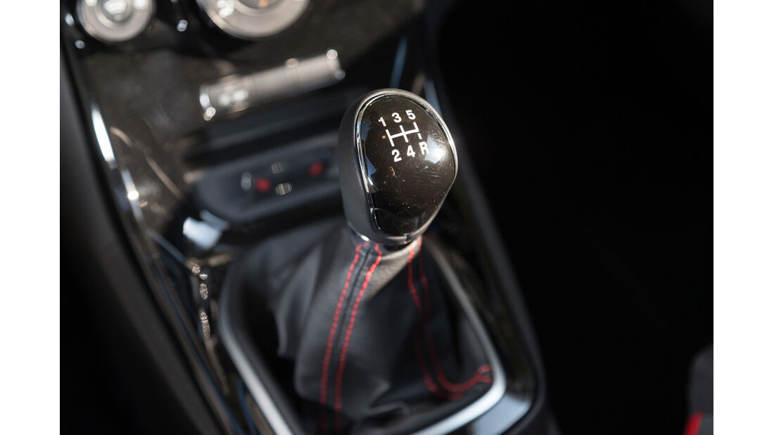 Ford Fiesta 1.0 Ecoboost Sport, Schalthebel