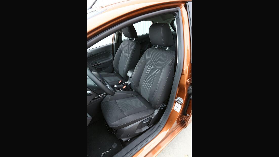 Ford Fiesta 1.0 Ecoboost Start-Stopp Titanium, Fahrersitz