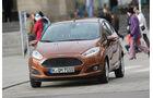Ford Fiesta 1.0 Ecoboost Start-Stopp Titanium, Frontansicht