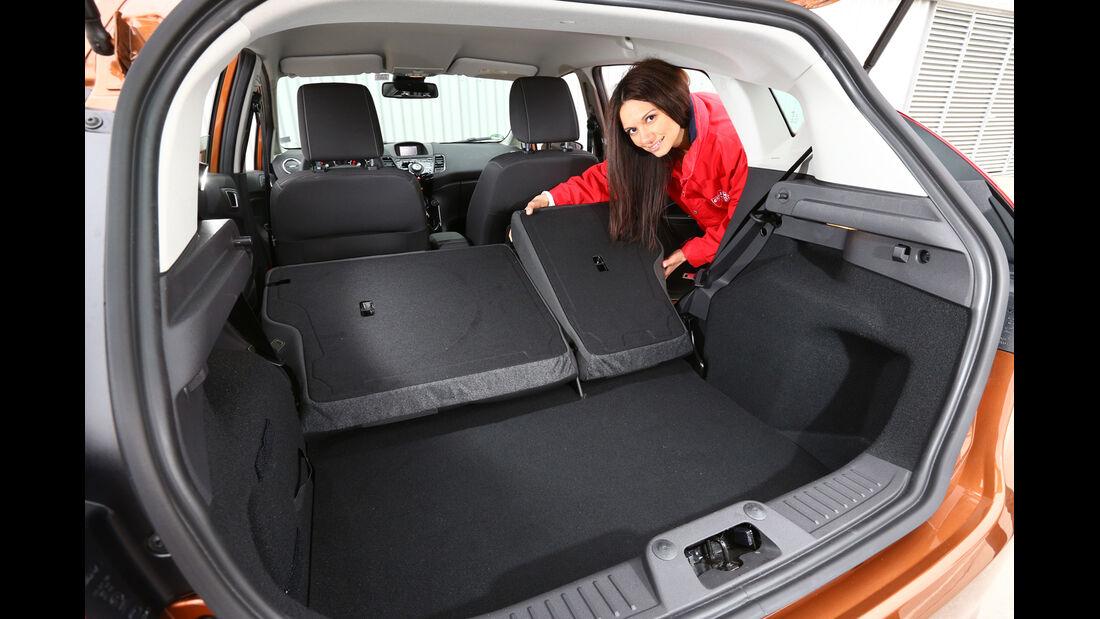 Ford Fiesta 1.0 Ecoboost Start-Stopp Titanium, Ladefläche