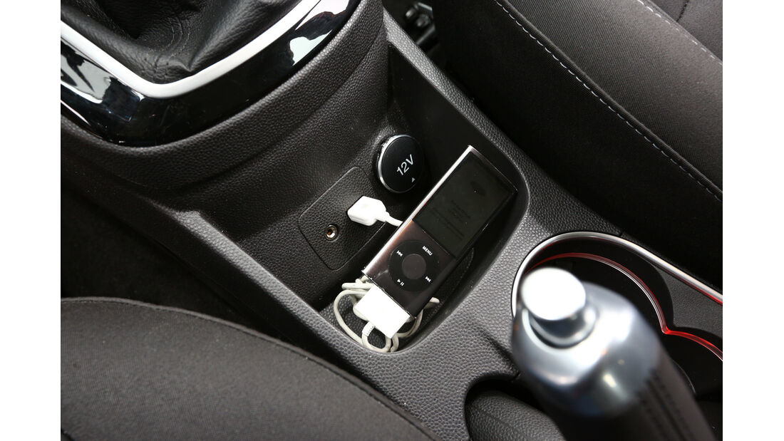 Ford Fiesta 1.0 Ecoboost Start-Stopp Titanium, Stauraum, Anschlüsse