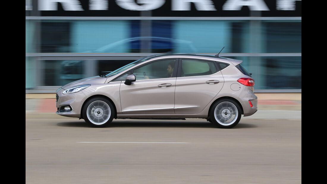 Ford Fiesta 1.0 Ecoboost Vignale, Außenansicht