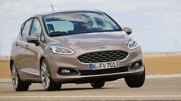 Ford Fiesta 1.0 Ecoboost Vignale, Front