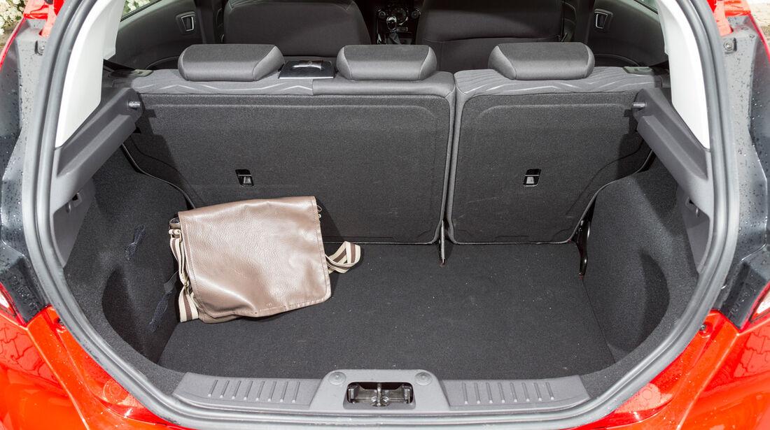 Ford Fiesta 1.0, Kofferraum
