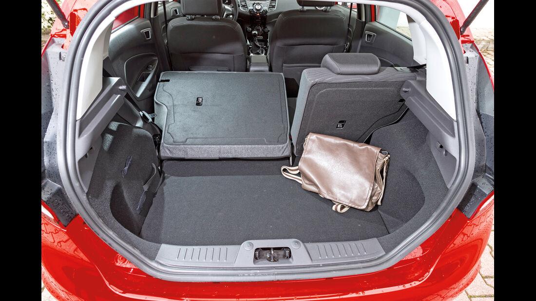 Ford Fiesta 1.0, Ladefläche